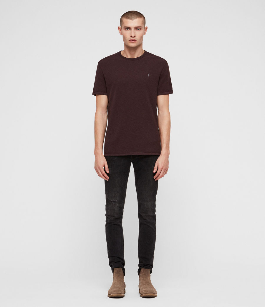 Hommes T-Shirt Tonic Laiden (deep_red) - Image 3