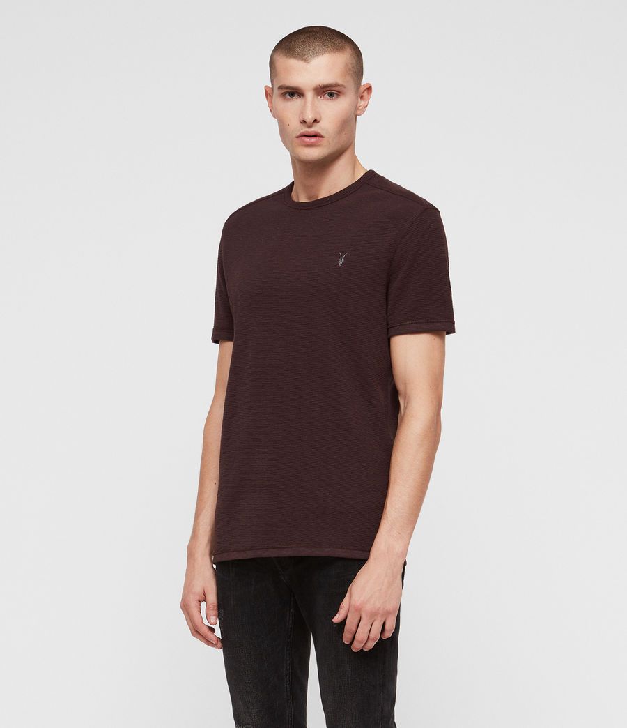 Hommes T-Shirt Tonic Laiden (deep_red) - Image 4