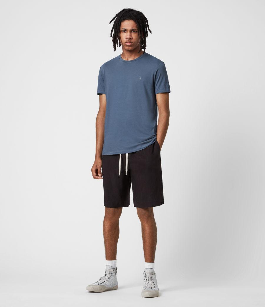 Men's Tonic Crew T-Shirt (misty_blue) - Image 4