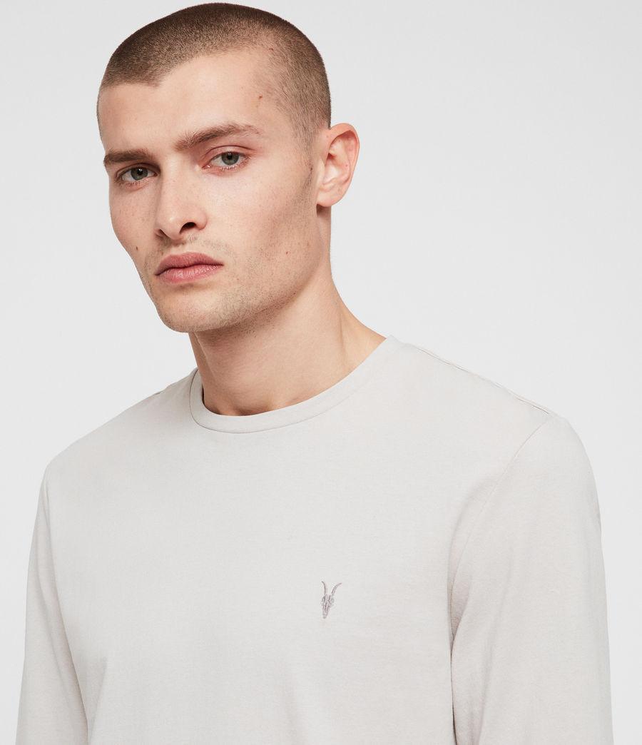 Men's Laiden Crew T-Shirt (lunar_grey) - Image 2