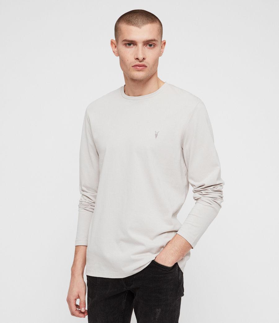 Men's Laiden Crew T-Shirt (lunar_grey) - Image 4