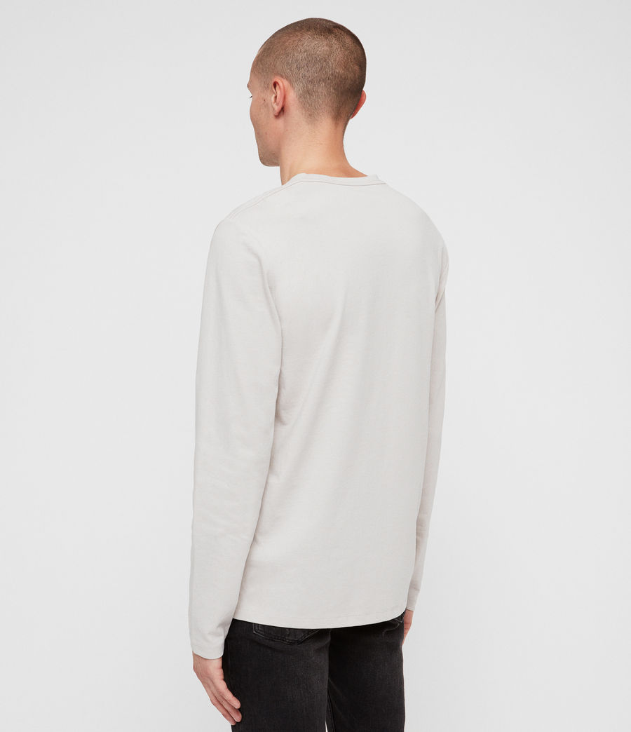 Men's Laiden Crew T-Shirt (lunar_grey) - Image 5