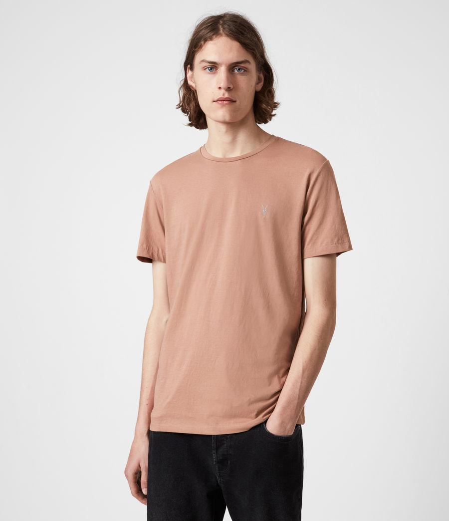 Hommes Tonic Crew T-Shirt (bronzed_pink) - Image 1
