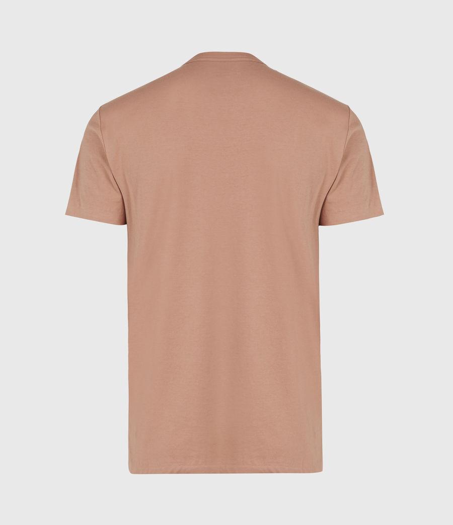 Hommes Tonic Crew T-Shirt (bronzed_pink) - Image 3