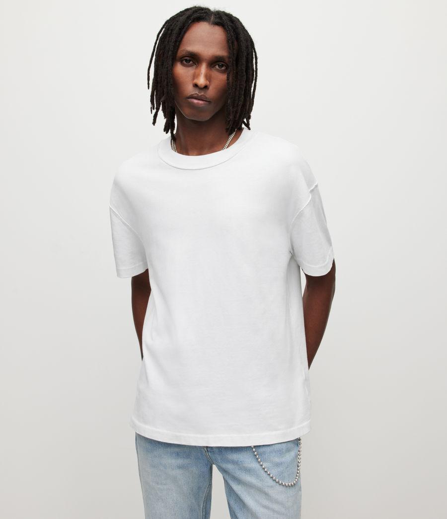 Hommes Isac Crew T-Shirt (optic_white) - Image 1