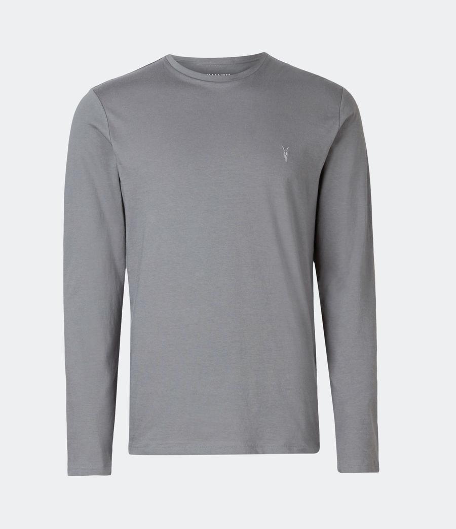 Mens Tonic Long Sleeve Crew T-Shirt (sacremento_green) - Image 2