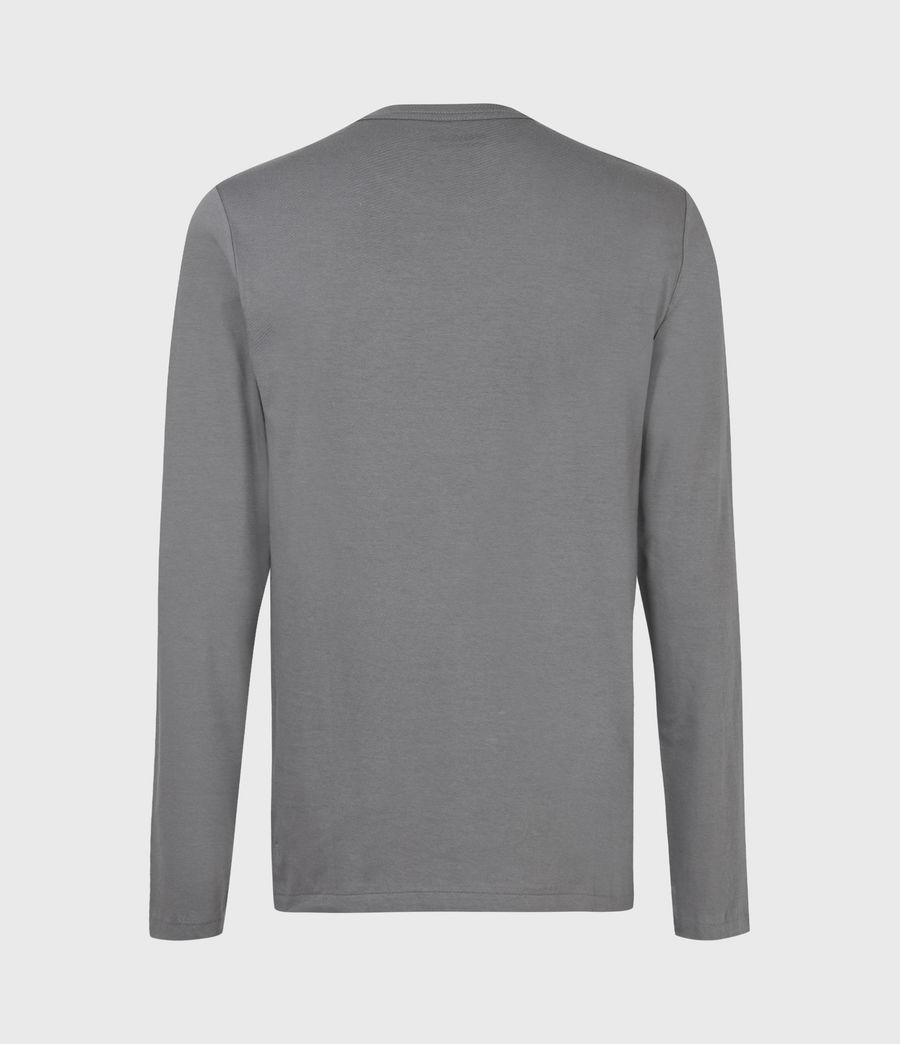 Mens Tonic Long Sleeve Crew T-Shirt (sacremento_green) - Image 3