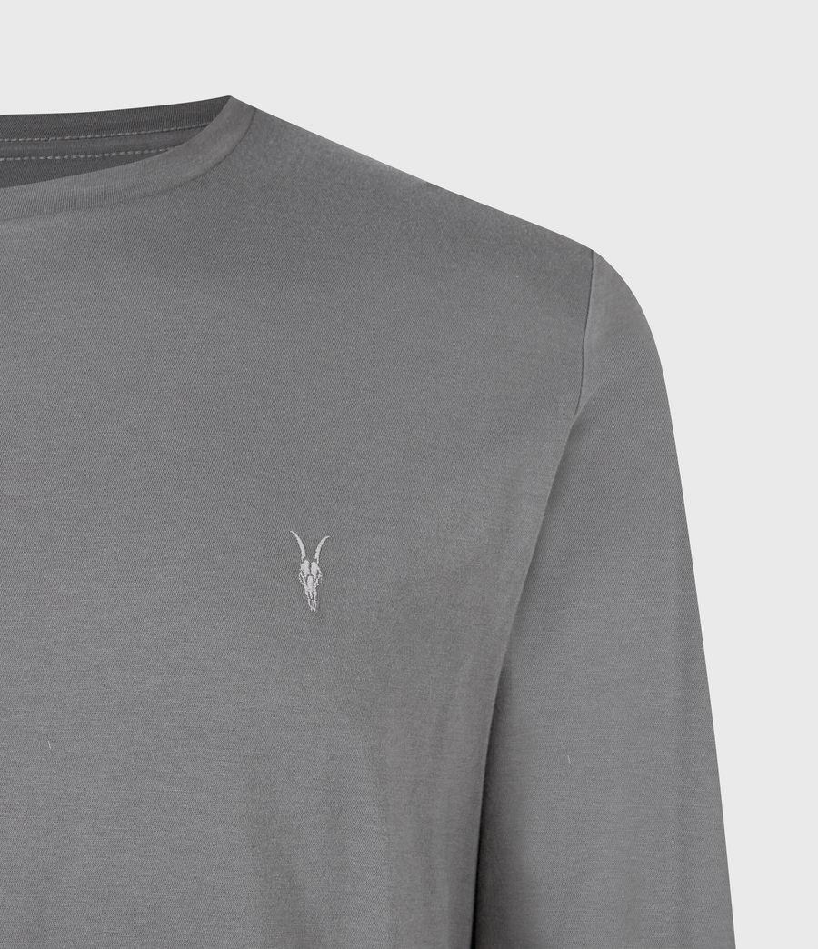 Mens Tonic Long Sleeve Crew T-Shirt (sacremento_green) - Image 5