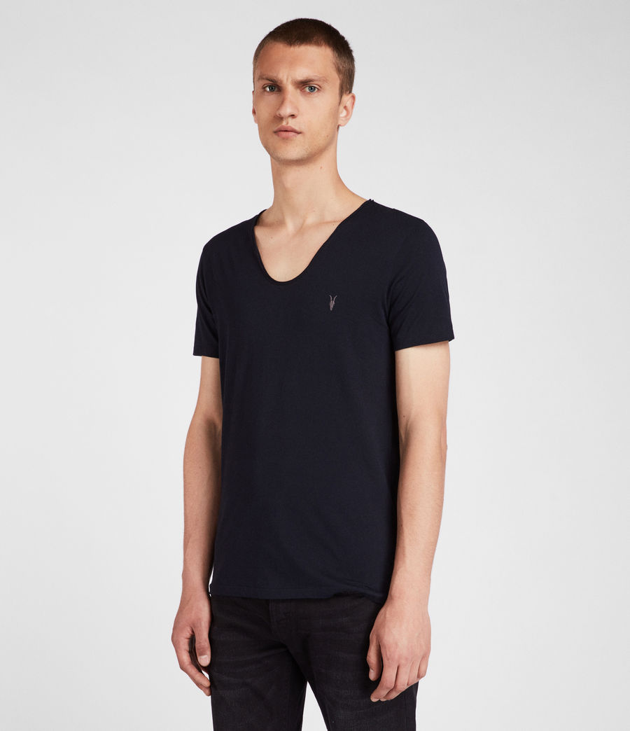 Hombre Playera Tonic Scoop (ink_navy) - Image 1