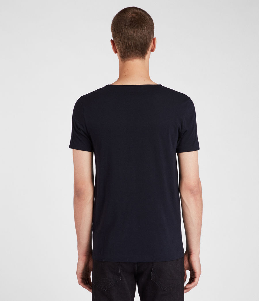 Mens Tonic Scoop T-Shirt (ink_navy) - Image 4
