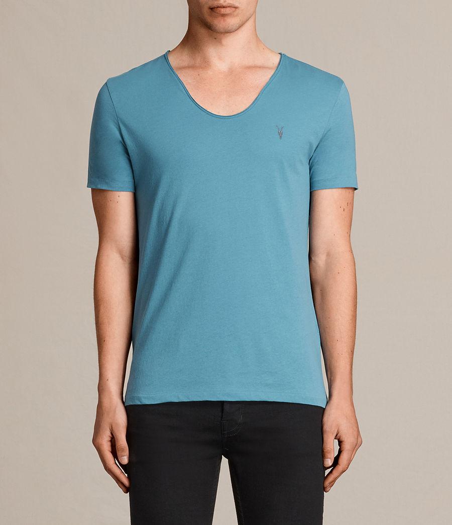 Uomo T-shirt Tonic Scoop (teal_blue) - Image 1