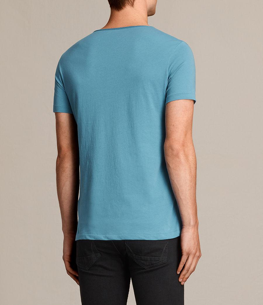 Uomo T-shirt Tonic Scoop (teal_blue) - Image 3