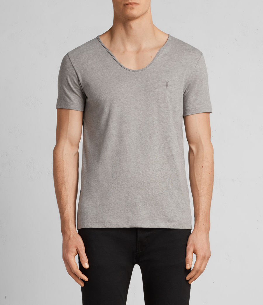 Men's Tonic Scoop T-Shirt (putty_brown_marl) - Image 1