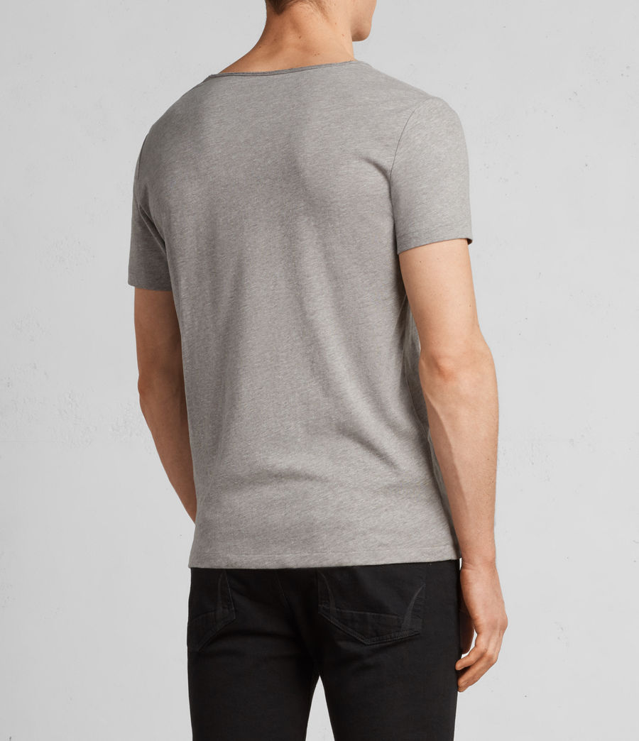 Hombres Camiseta Tonic Scoop (putty_brown_marl) - Image 4