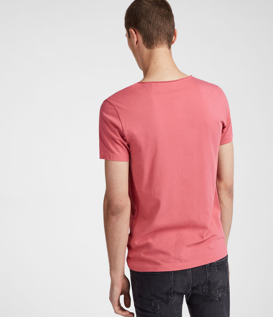 Men's Tonic Scoop T-Shirt (facade_pink) - Image 2