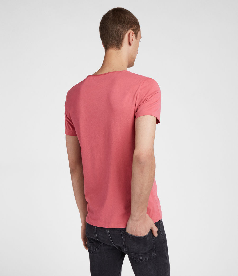 Men's Tonic Scoop T-Shirt (facade_pink) - Image 4
