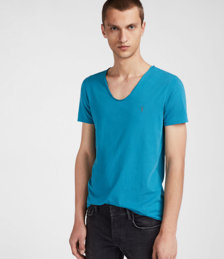 Mens Tonic Scoop T-Shirt (arch_blue) - Image 1