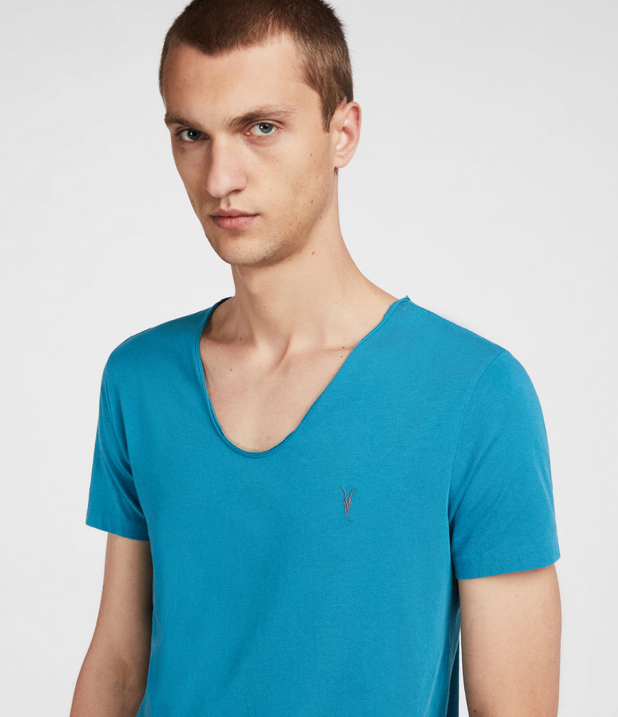 Mens Tonic Scoop T-Shirt (arch_blue) - Image 2