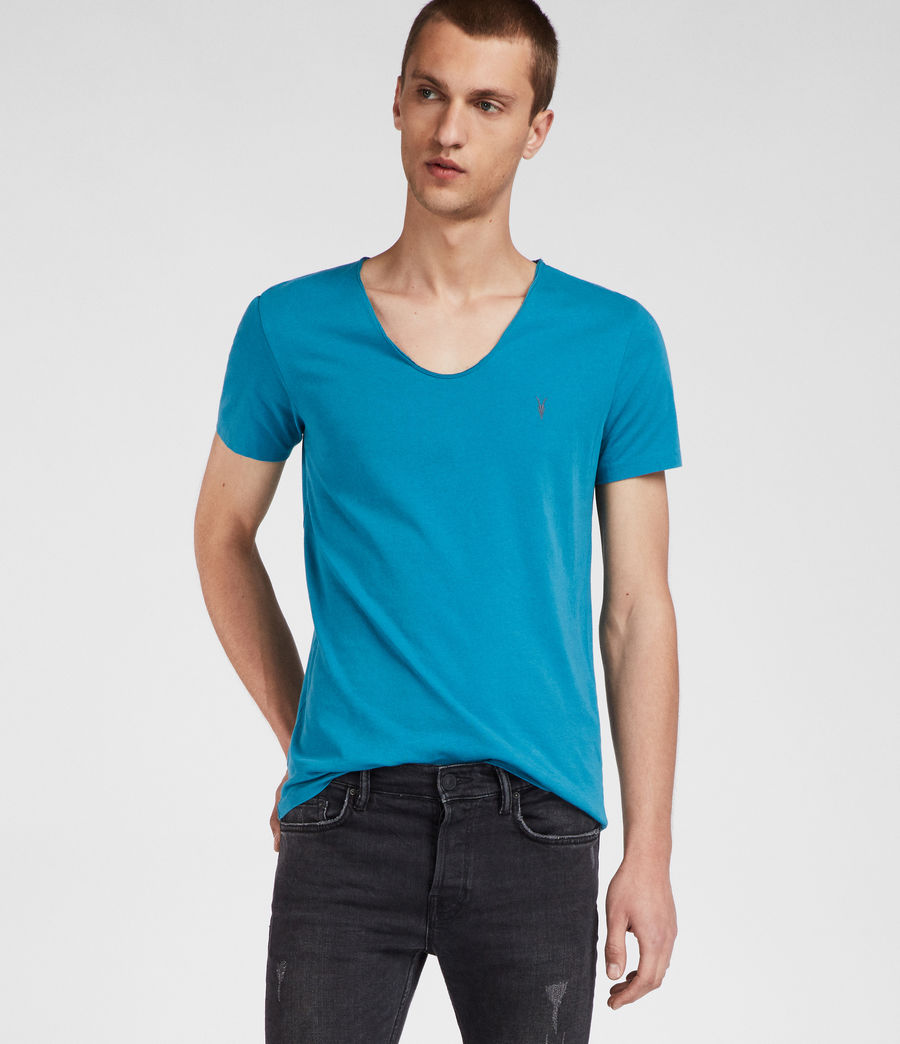 Mens Tonic Scoop T-Shirt (arch_blue) - Image 3