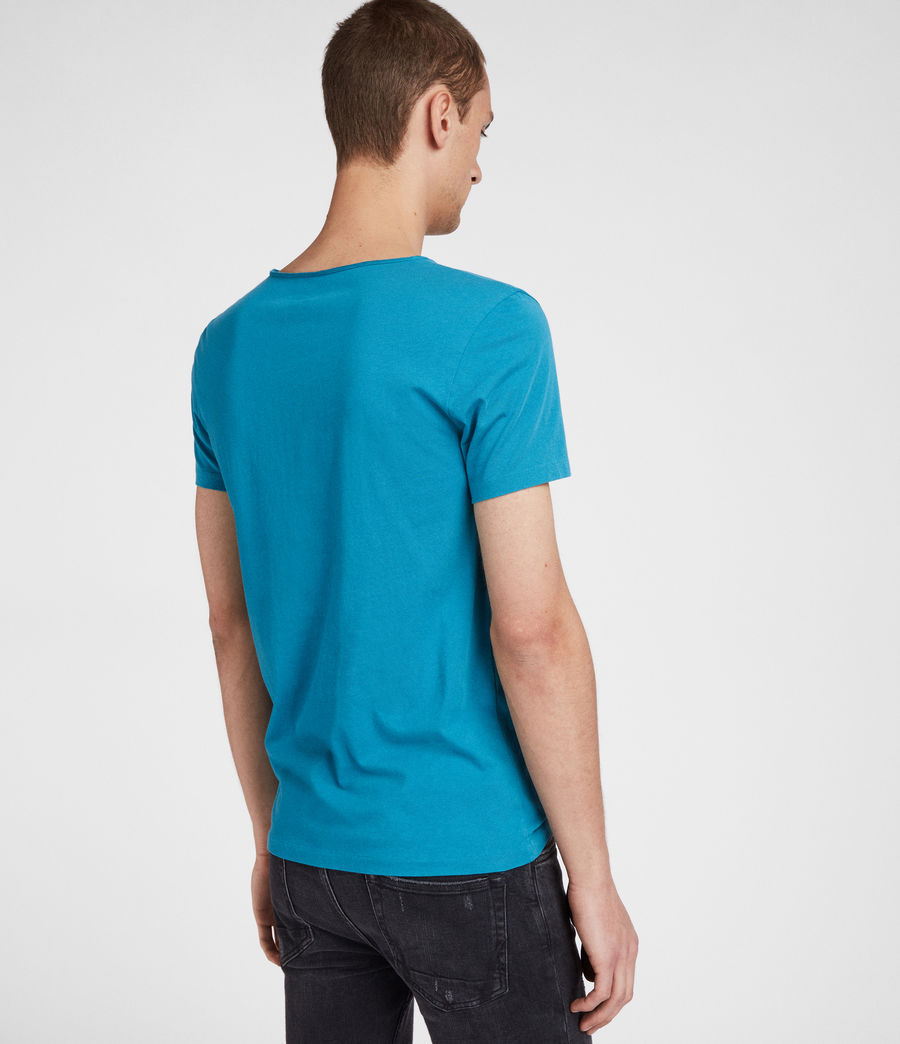 Mens Tonic Scoop T-Shirt (arch_blue) - Image 4