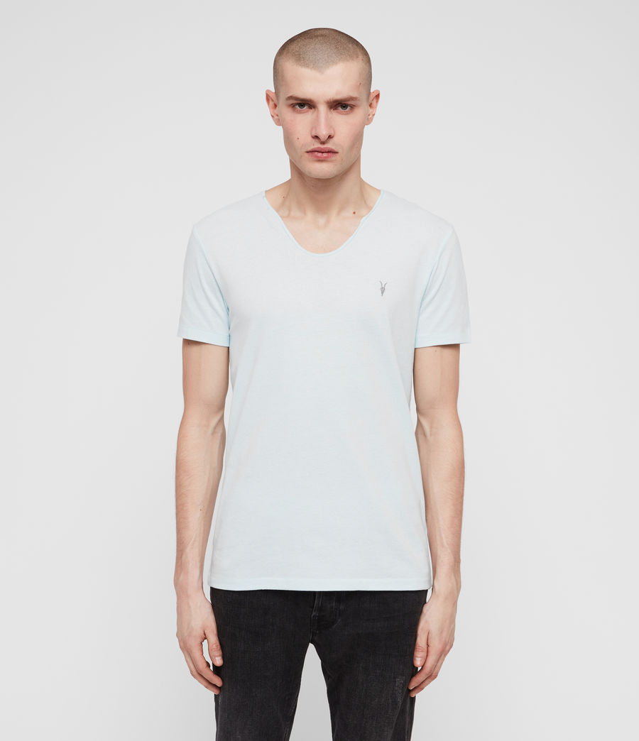 Uomo T-shirt Tonic Scoop (grey_marl) - Image 1