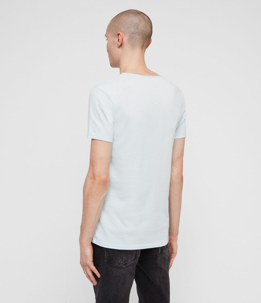 Uomo T-shirt Tonic Scoop (grey_marl) - Image 4