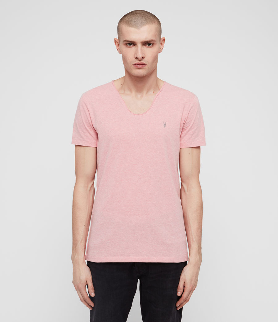 Men's Tonic Scoop T-Shirt (grey_marl) - Image 1