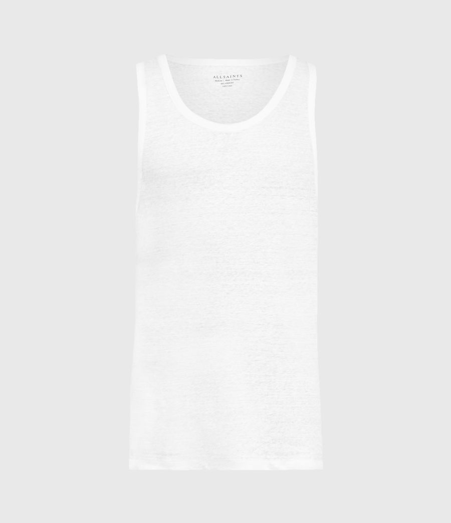 Men's Avery Vest (optic_white) - Image 1