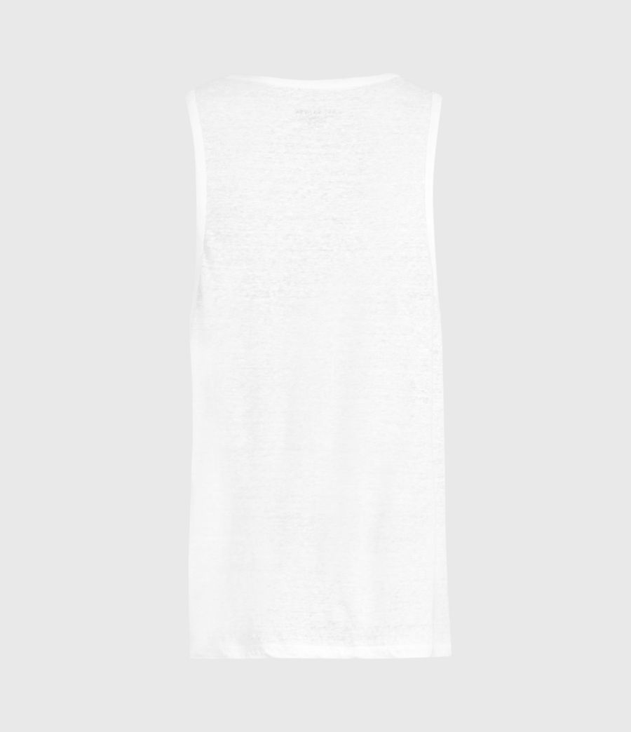 Men's Avery Vest (optic_white) - Image 2