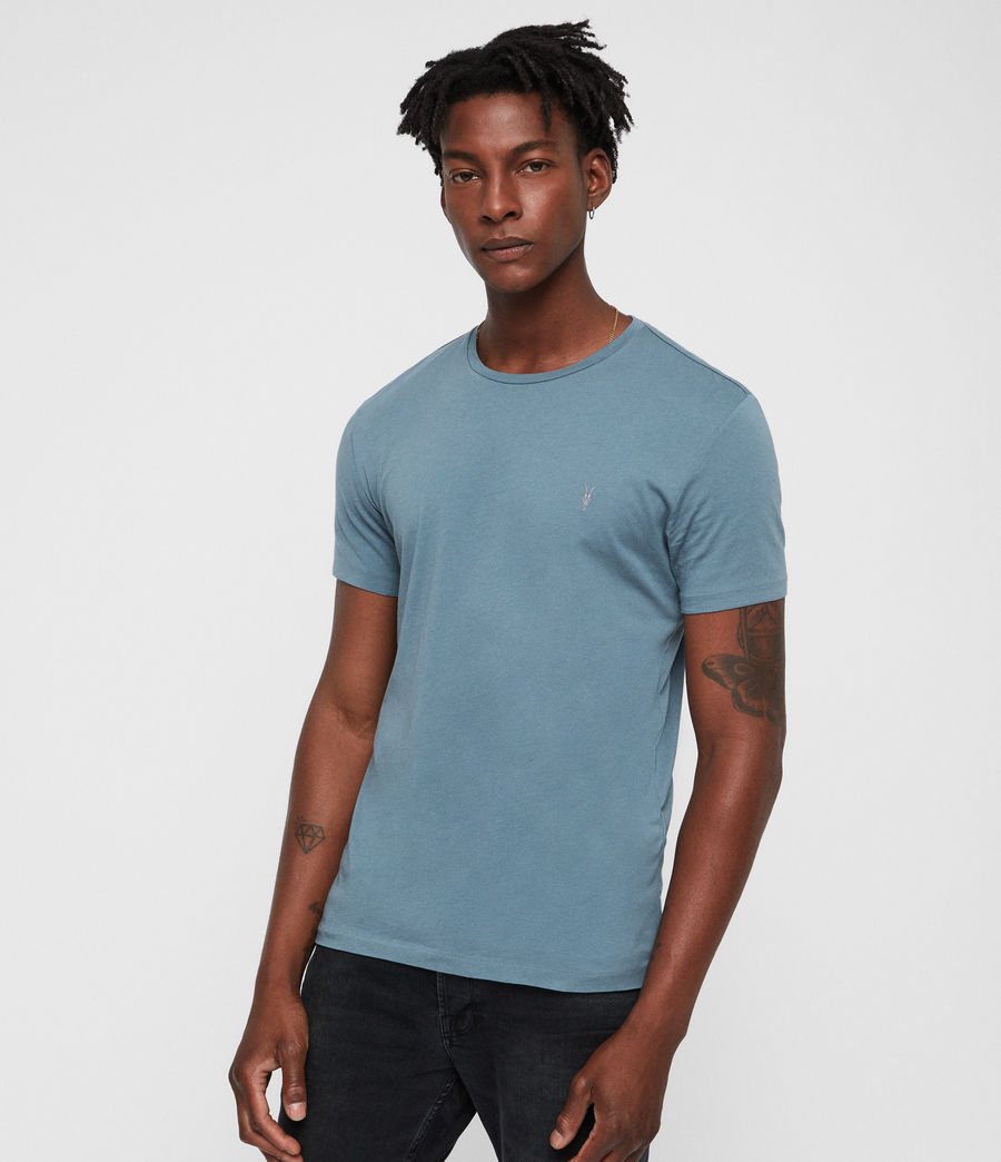 Hommes T-Shirt Tonic (chambray_blue) - Image 1