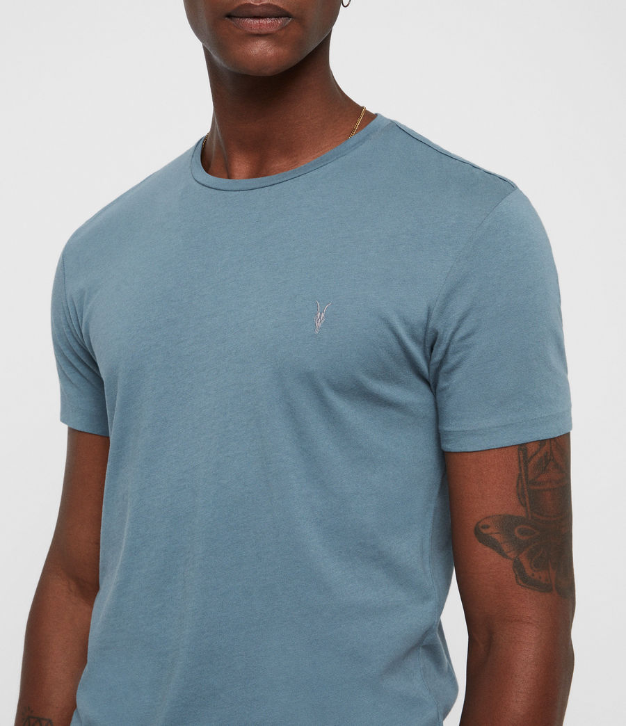 Hommes T-Shirt Tonic (chambray_blue) - Image 2