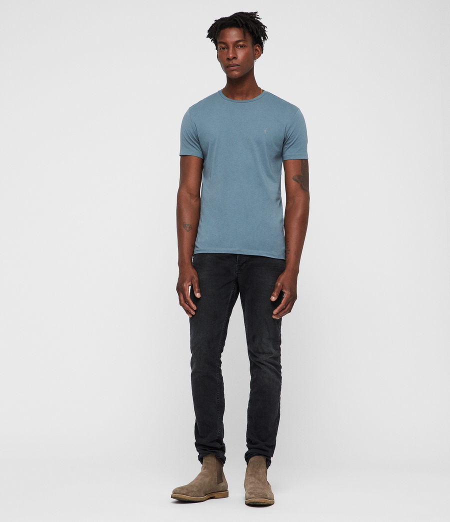 Hommes T-Shirt Tonic (chambray_blue) - Image 3