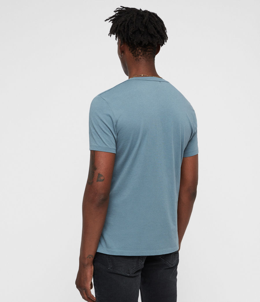 Hommes T-Shirt Tonic (chambray_blue) - Image 4
