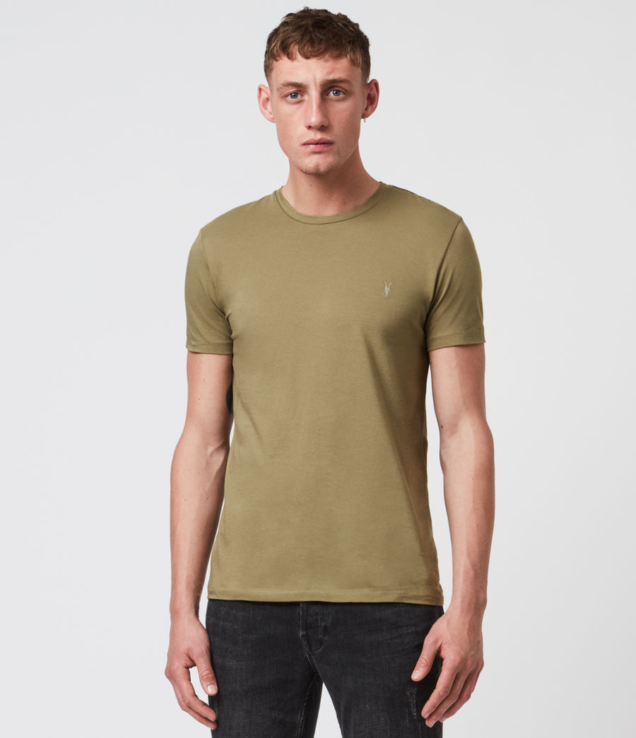 Mens Tonic Short Sleeve Crew T-Shirt (forest_green) - Image 1