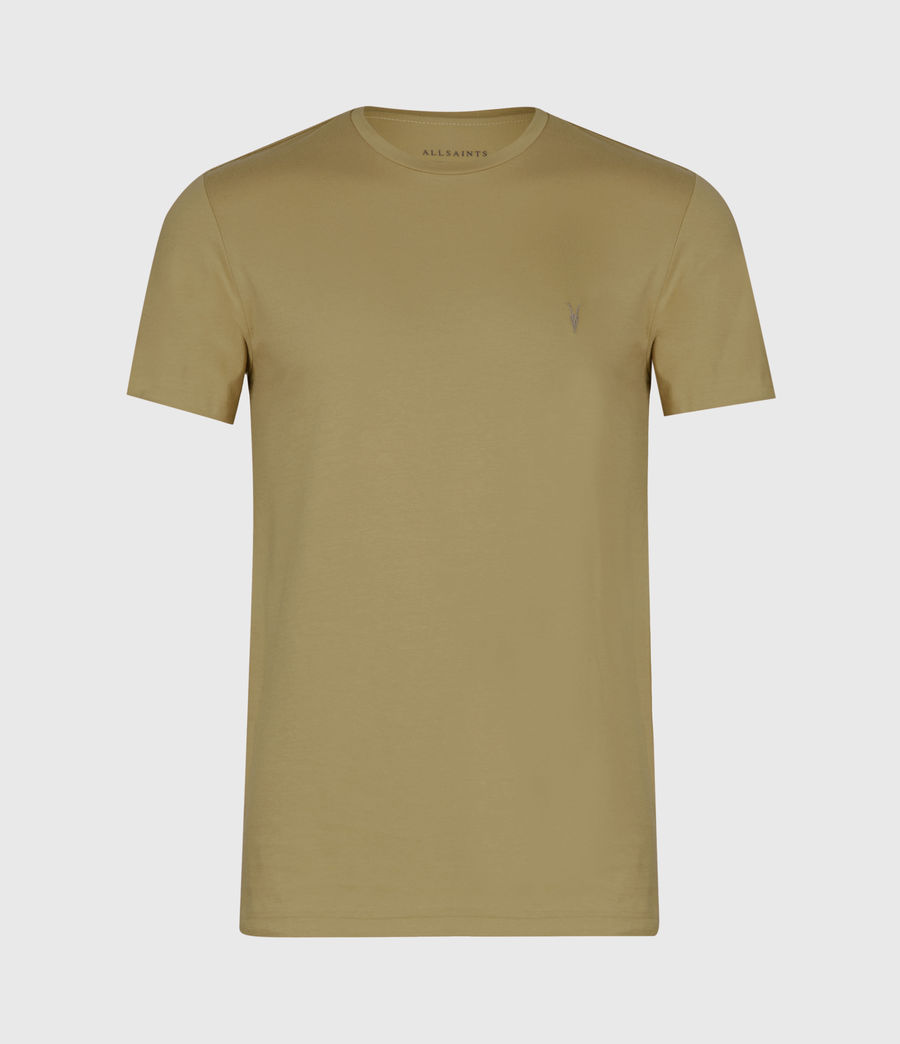 Mens Tonic Short Sleeve Crew T-Shirt (forest_green) - Image 2