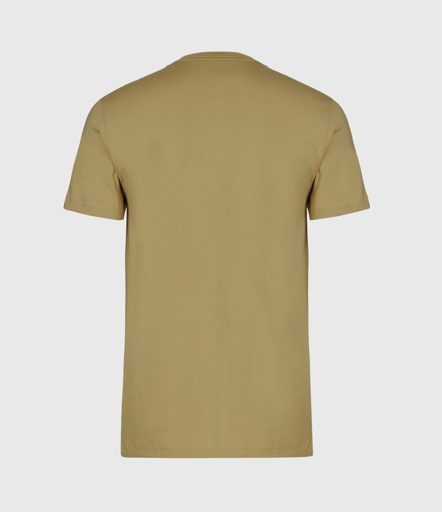 Mens Tonic Short Sleeve Crew T-Shirt (forest_green) - Image 3