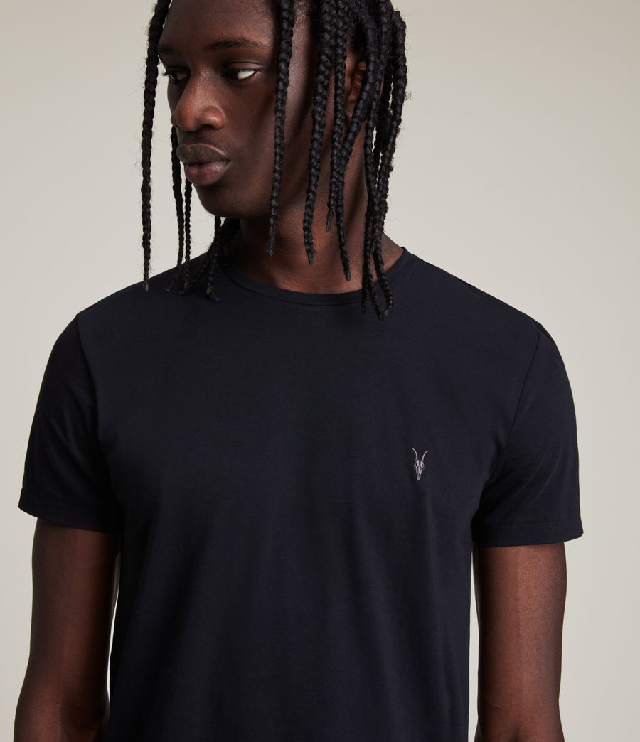 Uomo T-shirt Tonic - Slim in cotone (ink_navy) - Image 2