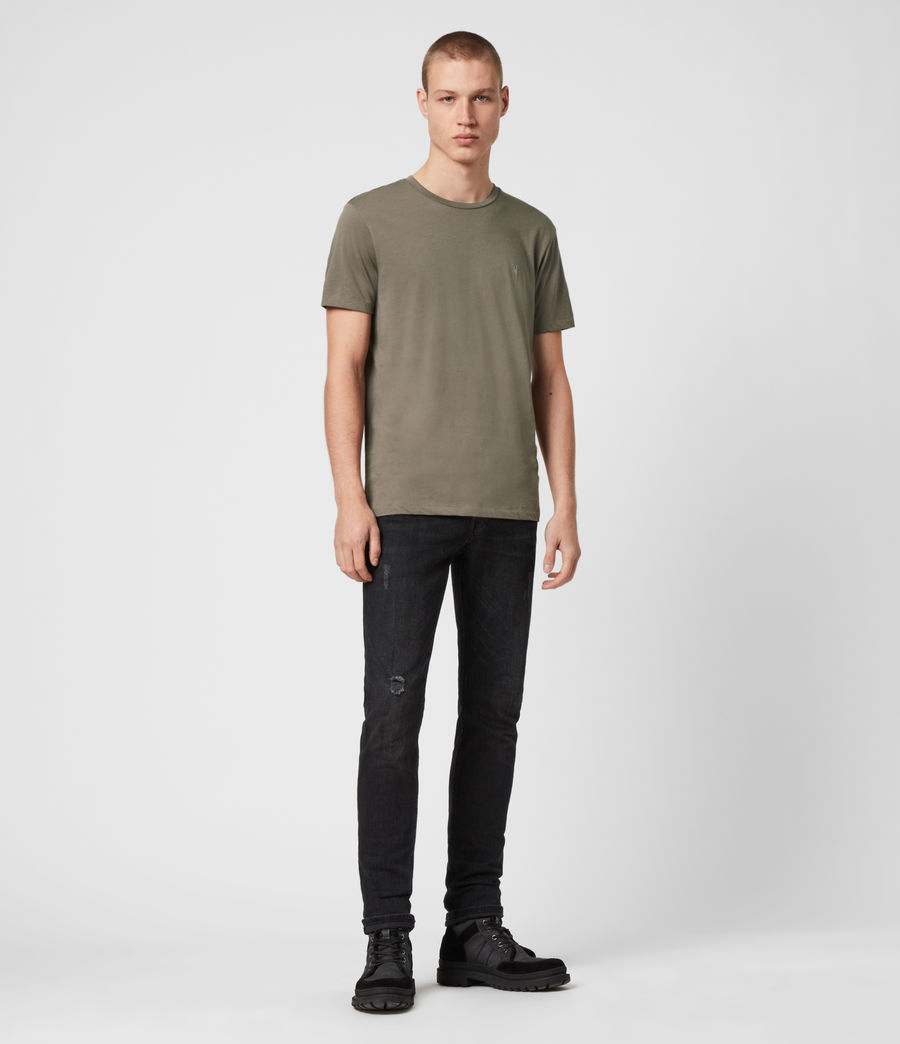 Uomo T-shirt Tonic - Slim in cotone (ink_navy) - Image 3