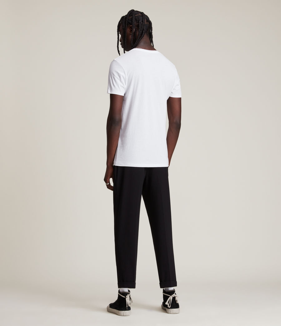 Mens Tonic Crew T-Shirt (optic_white) - Image 3