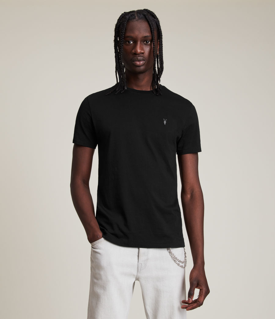 Mens Tonic Crew T-Shirt (jet_black) - Image 1