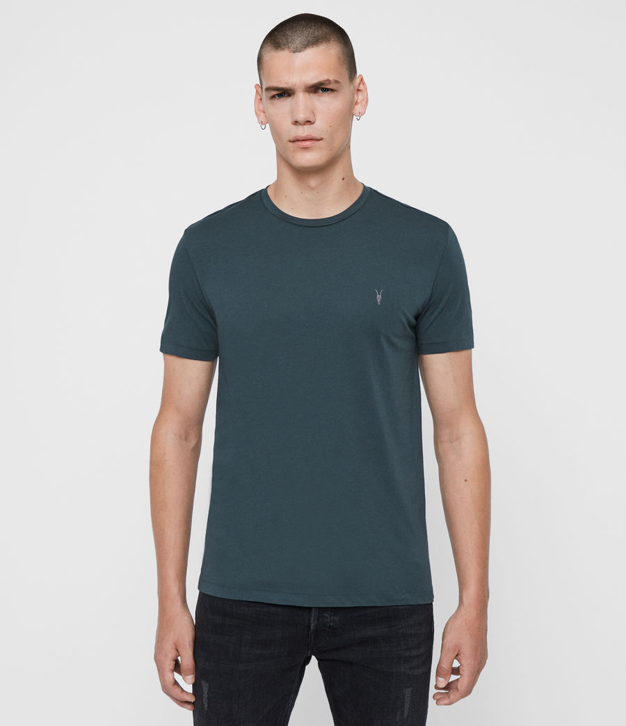 Mens Tonic Crew T-Shirt (teal_blue) - Image 1