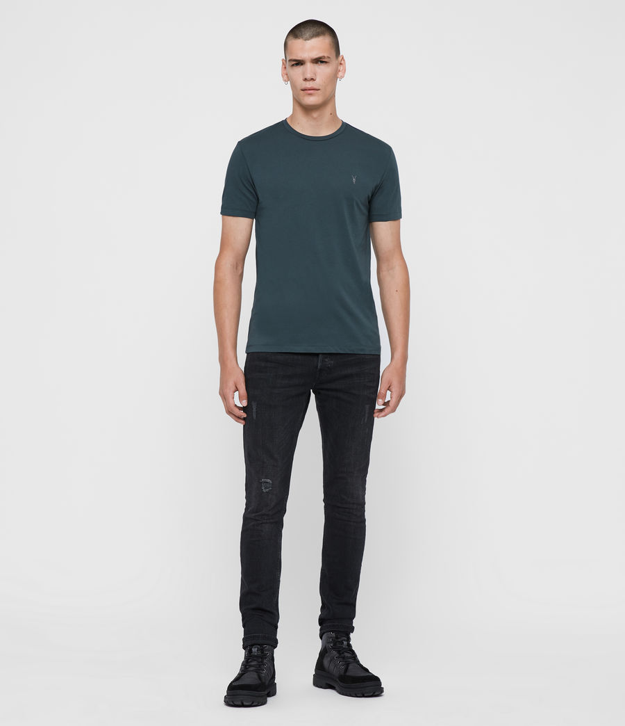Mens Tonic Crew T-Shirt (teal_blue) - Image 3