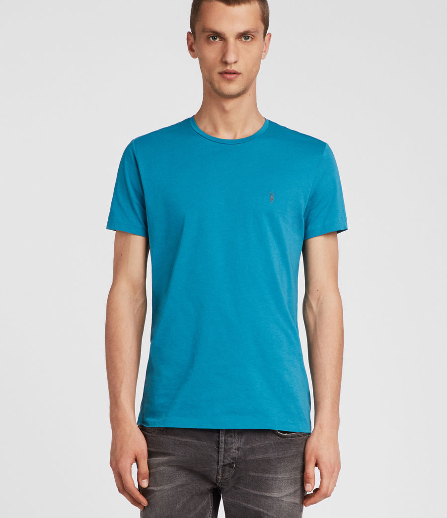 Hombres Tonic Crew T-Shirt (arch_blue) - Image 1