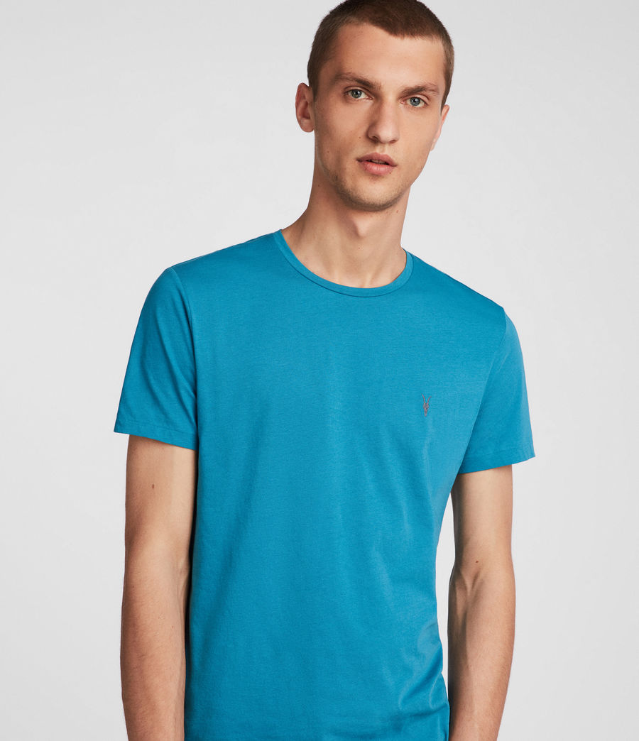 Hombres Tonic Crew T-Shirt (arch_blue) - Image 2