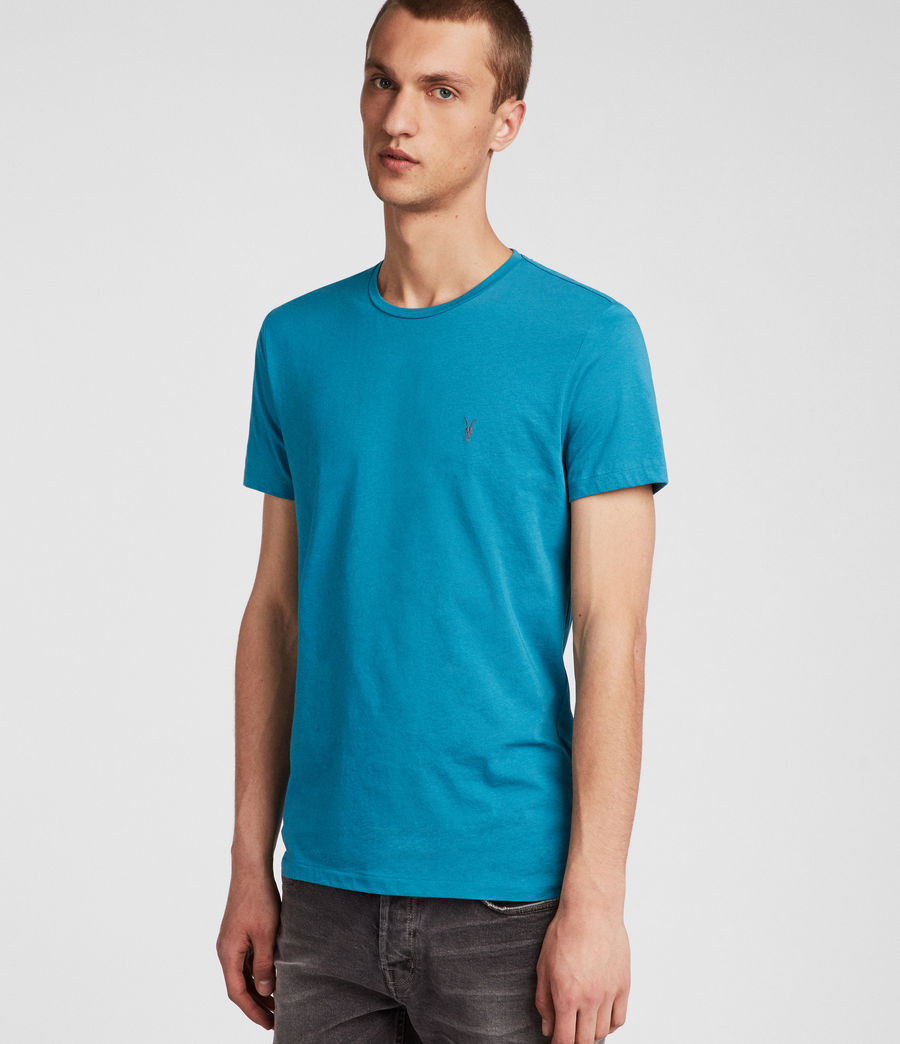 Hombres Tonic Crew T-Shirt (arch_blue) - Image 3