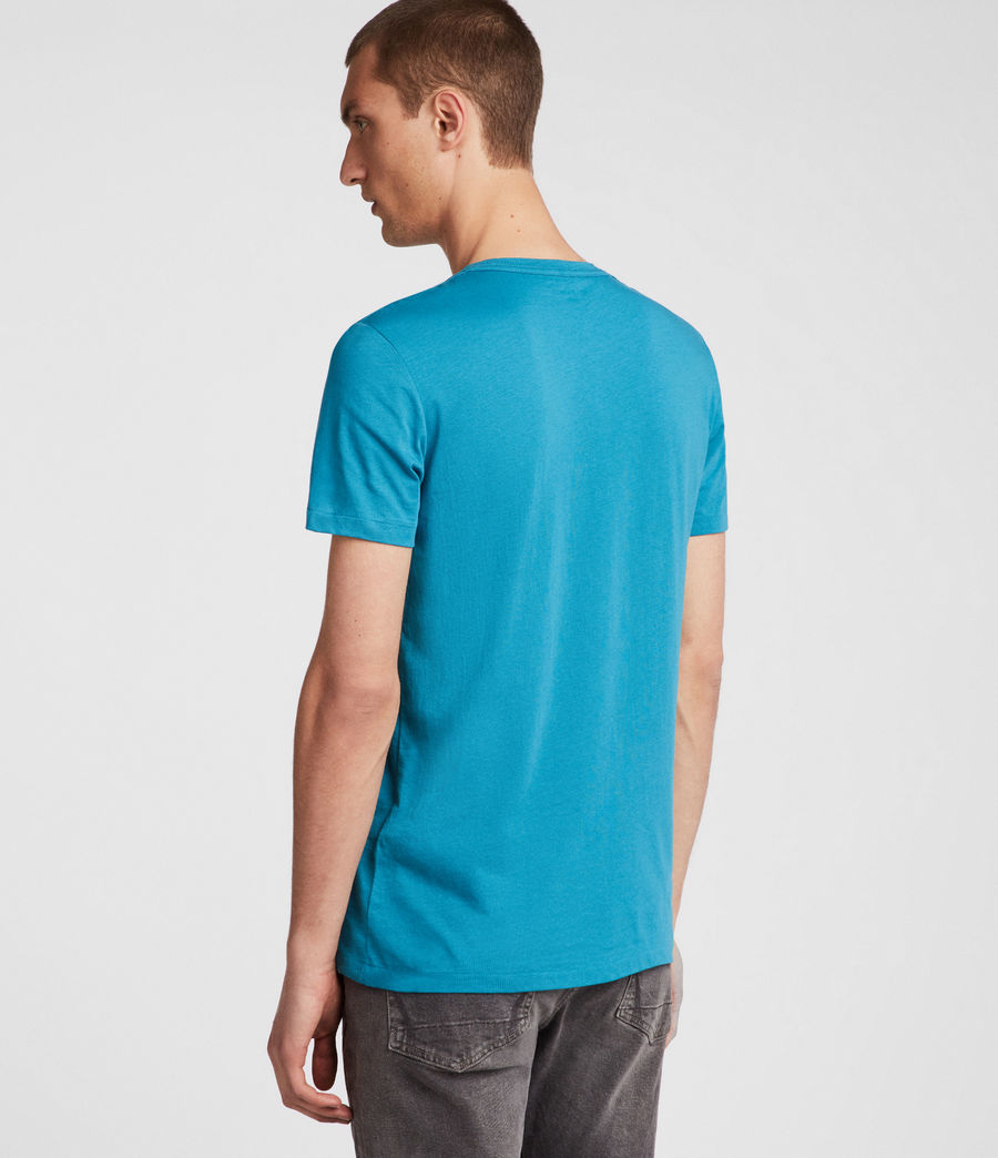 Hombres Tonic Crew T-Shirt (arch_blue) - Image 4