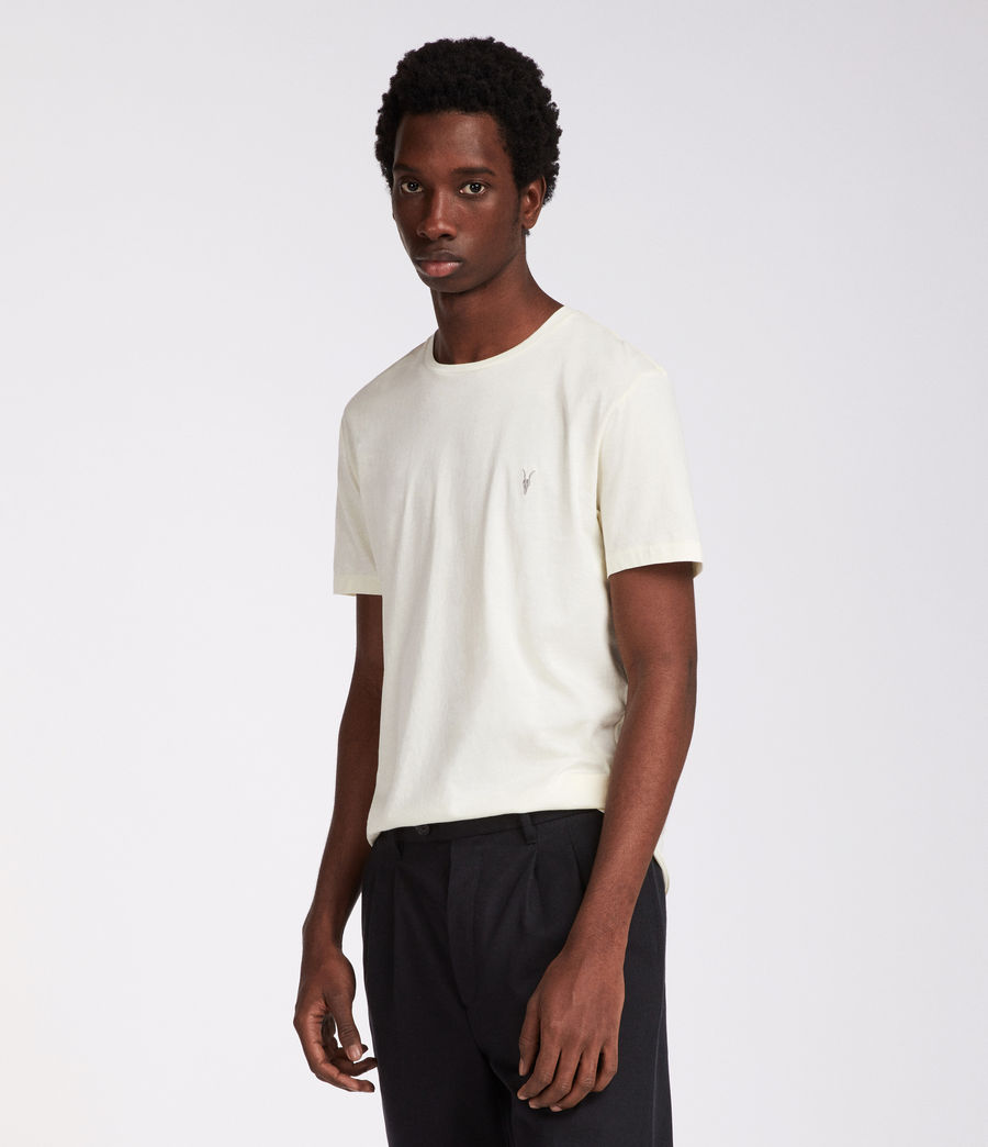 Men's Tonic Crew T-Shirt (soft_yellow) - Image 3