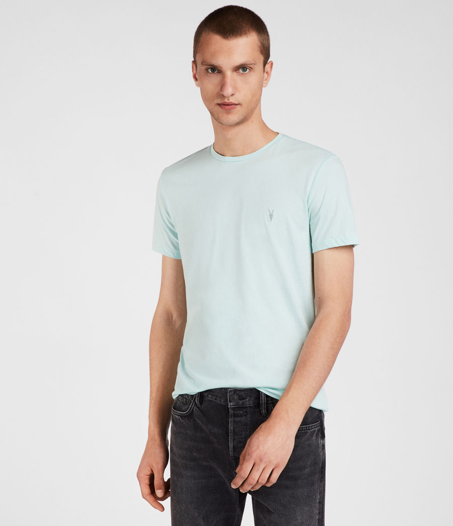 Mens Tonic Crew T-Shirt (isle_green) - Image 1