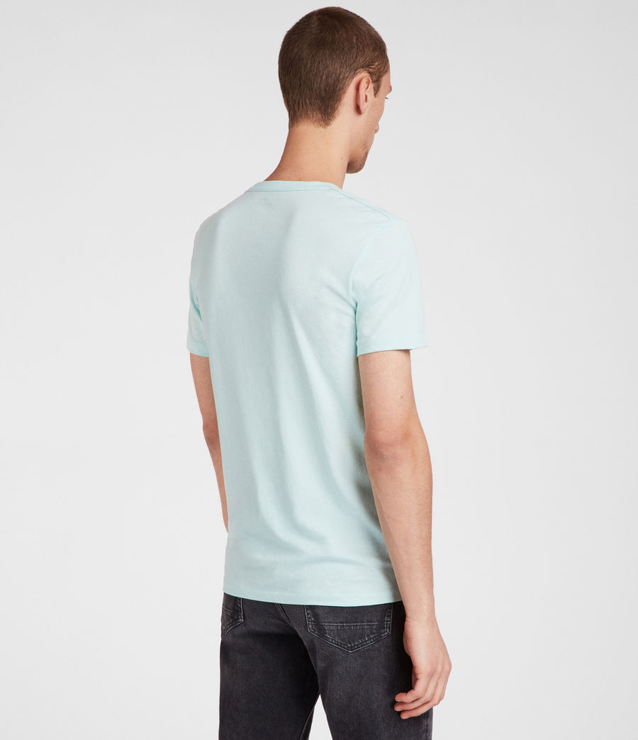 Mens Tonic Crew T-Shirt (isle_green) - Image 4