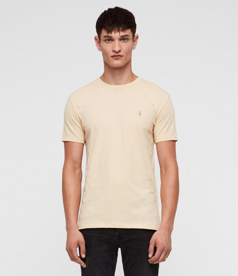 Hommes T-Shirt Tonic (wash_solar_yellow) - Image 1